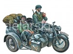 ITALERI 0317 ZINDAPP KS750 WITH SIDECAR 1/35