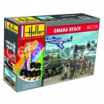 HELLER 53012 ZESTAW START OMAHA BEACH 1/72